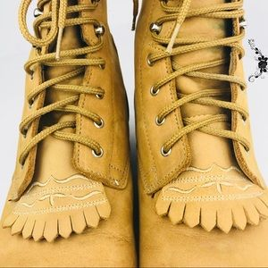 Leather Lace Up Ariat Boots